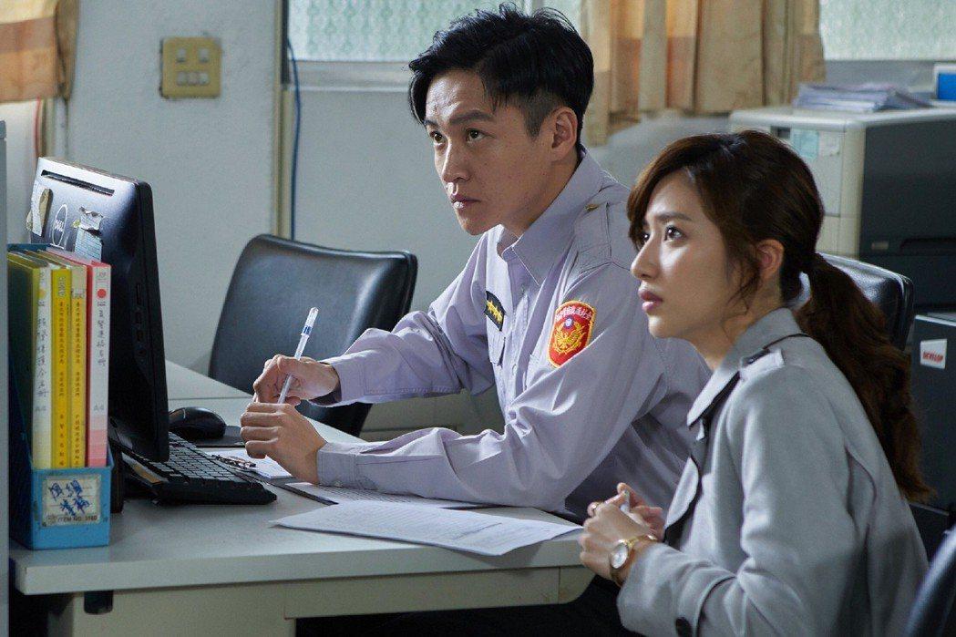 謝翔雅在戲中到警局報案。圖/東森提供