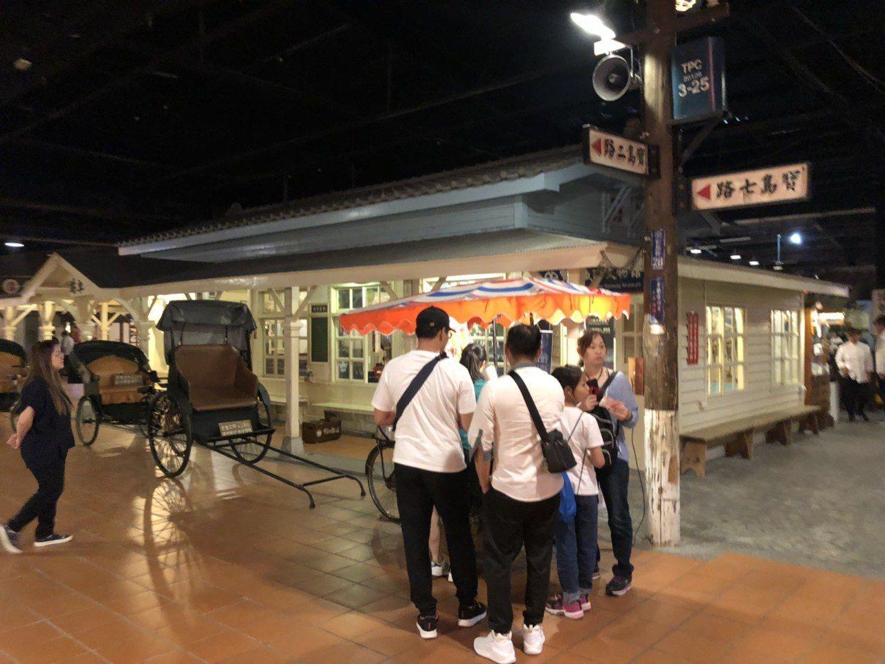 寶島時代村重新開幕,台灣早期生活懷舊景觀重現。記者江良誠/攝影