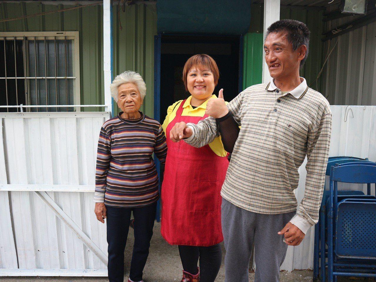 照服員的生活對家年來說,是一份傳遞幸福的工作。介惠基金會╱提供