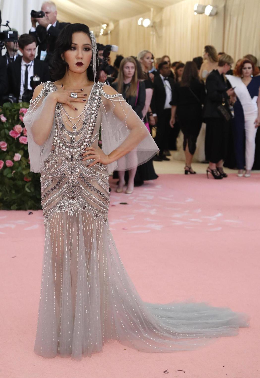 吳恬敏因「瘋狂亞洲富豪」成為票房女星,各大重要活動都受邀出席。圖/路透資料照片