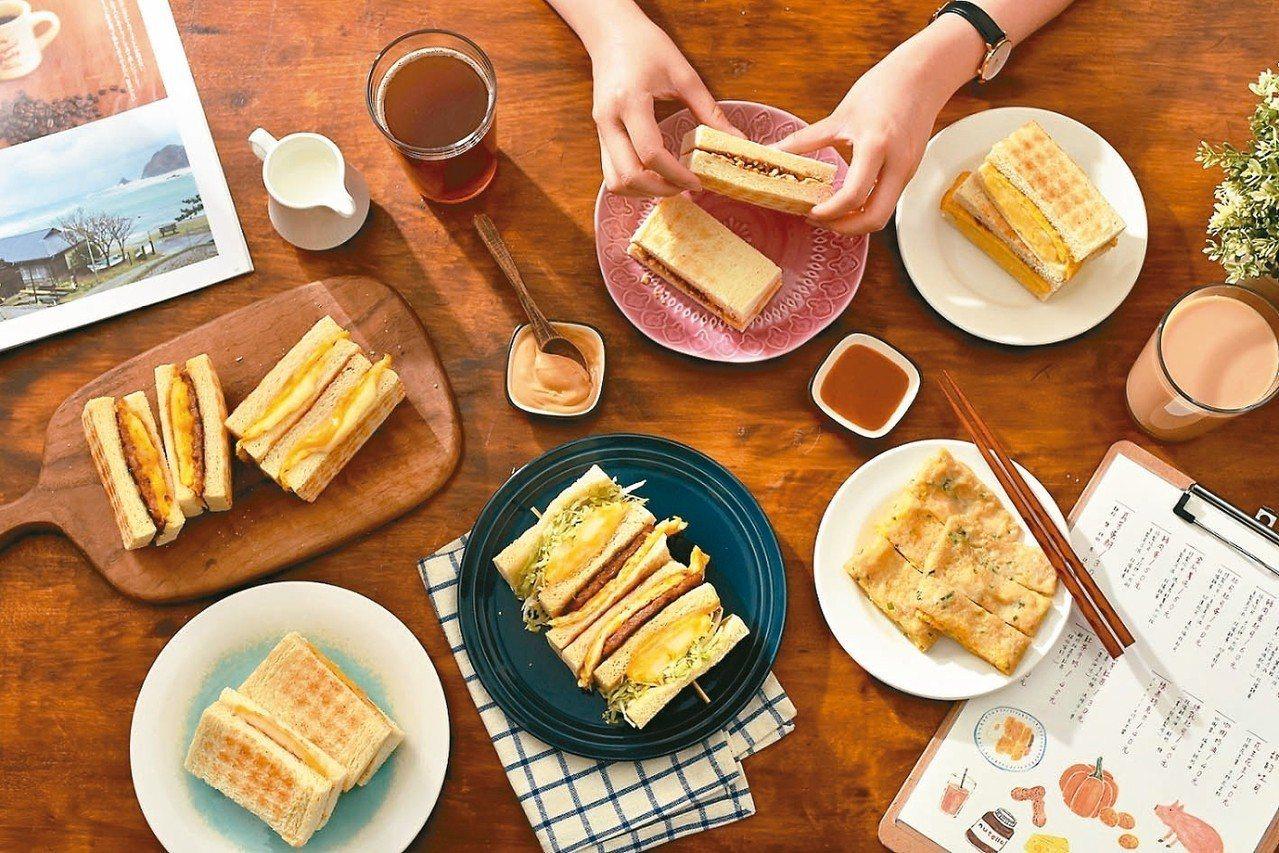 真芳台北南西店早上7點起提供古早味早餐。 圖╱誠品生活提供