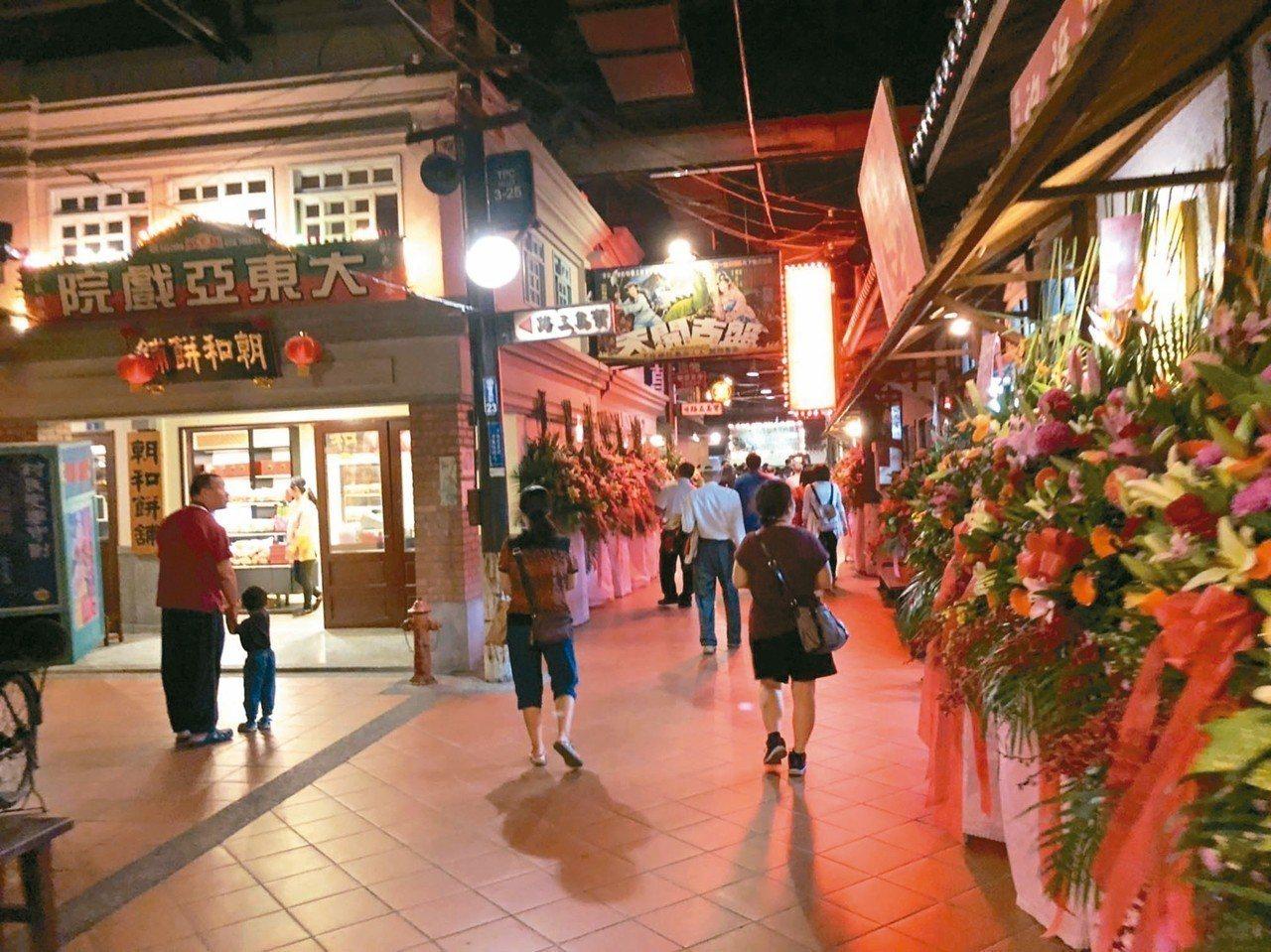 寶島時代村重新開幕,台灣早期生活懷舊景觀重現。 記者江良誠/攝影