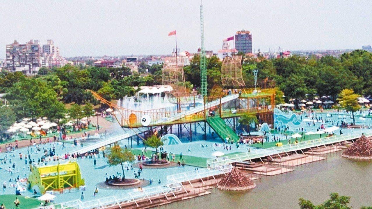 冬山河親水公園蘊藏優質溫泉,未來有溫泉的宜蘭童玩節不是想像。 圖/聯合報系資料照...