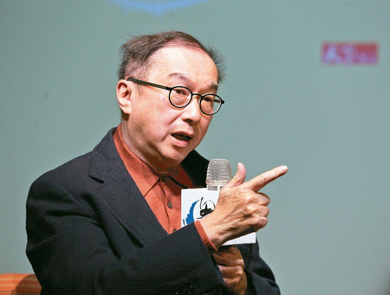 廣達董事長林百里。 圖/聯合報系資料照片