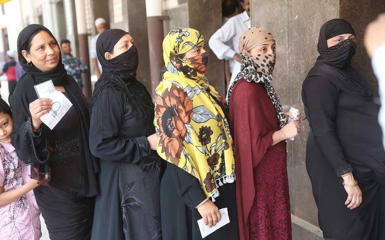 印度國會下院大選今天在6個省及首都德里舉行第6階段投票。 歐新社