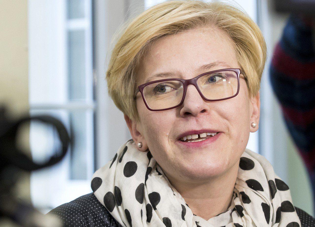 立陶宛總統大選,44歲的保守派前財政部長席夢奈特(Ingrida Simonyt...