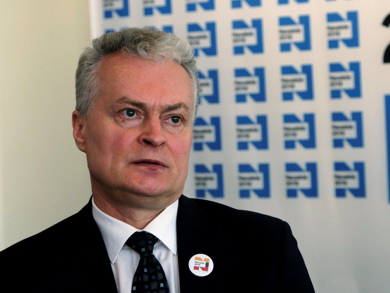 立陶宛總統大選,54歲的大銀行前資深經濟學家諾賽達(Gitanas Naused...