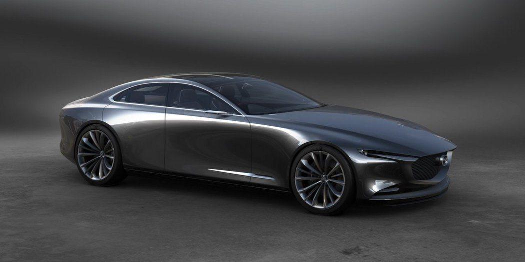 Mazda未來大型4門轎跑 Vision Coupe Concept。 摘自Ma...