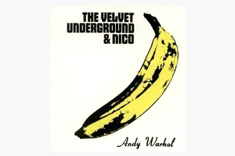 1967年發行的《地下絲絨與妮可》唱片。 圖/維基共享