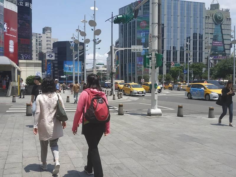 天氣風險公司表示,夏季型的天氣將會持續一段時間。(photo by 張朝瑋/台灣...