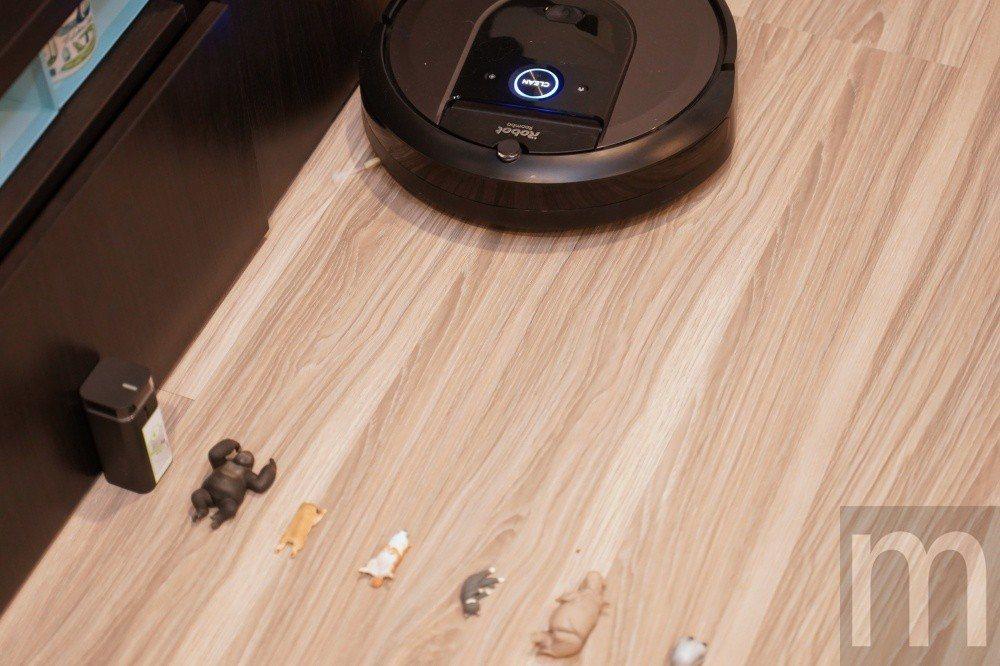 開啟之後即可透過虛擬牆阻止掃地ˋ機器人「越線」