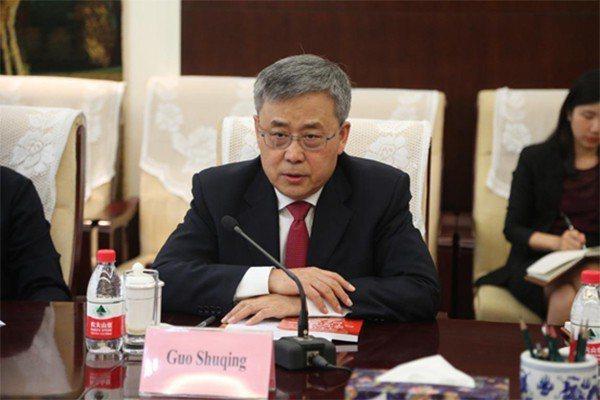 大陸銀保監會主席郭樹清。照片/大陸銀保監會官網