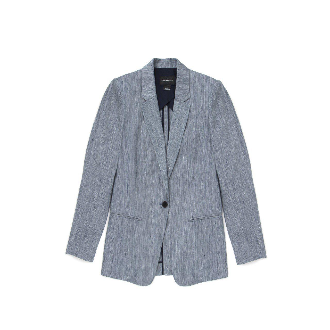 西裝外套,12,900元。圖/Club Monaco提供