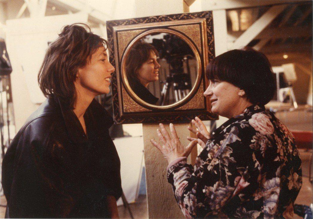 安妮華達(右)為英國女星珍寶金(左) 拍攝的「千面珍寶金」將在本屆台北電影節放映...