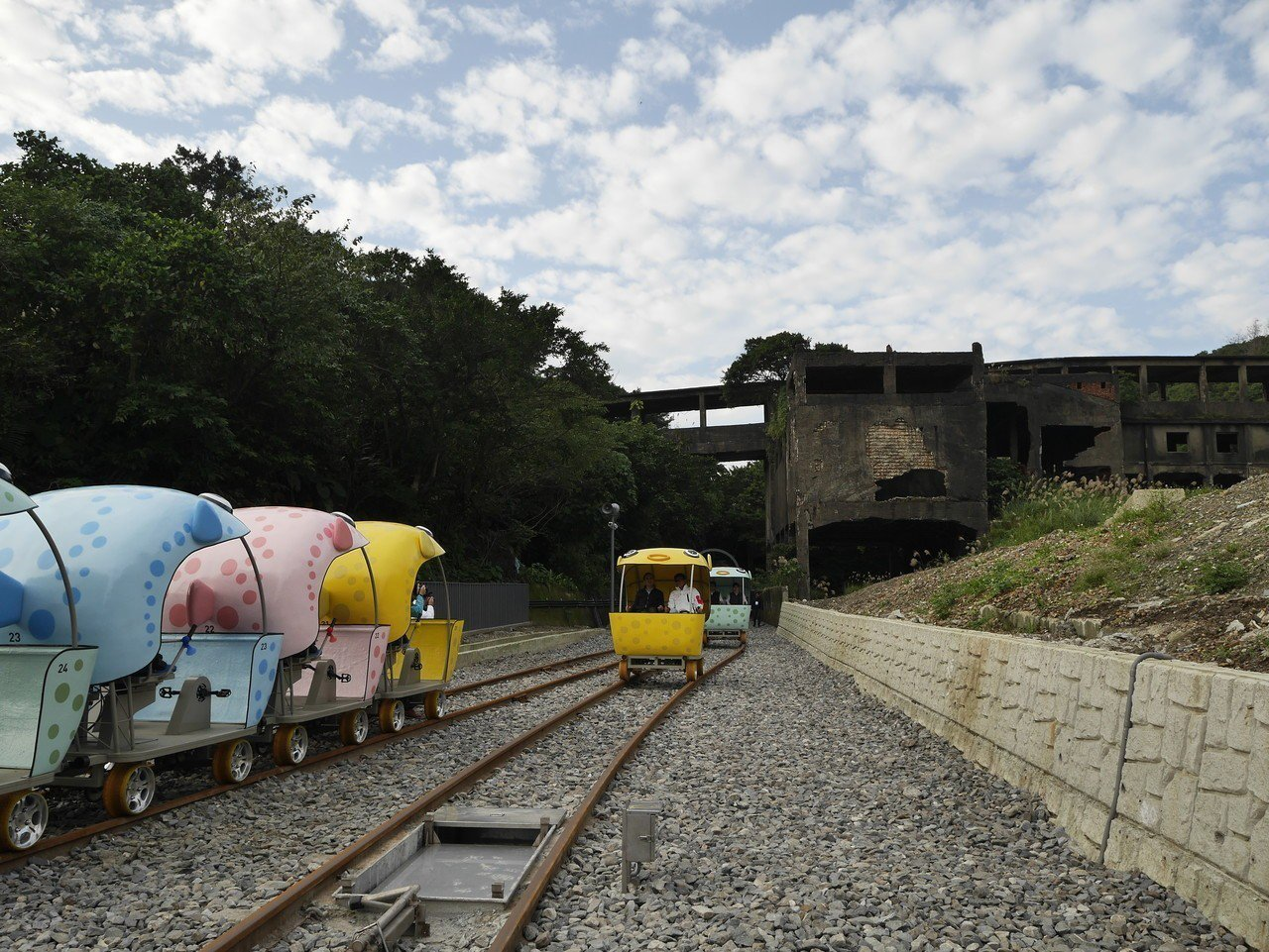 今年初正式營運的深澳台鐵自行車。記者吳淑君/攝影