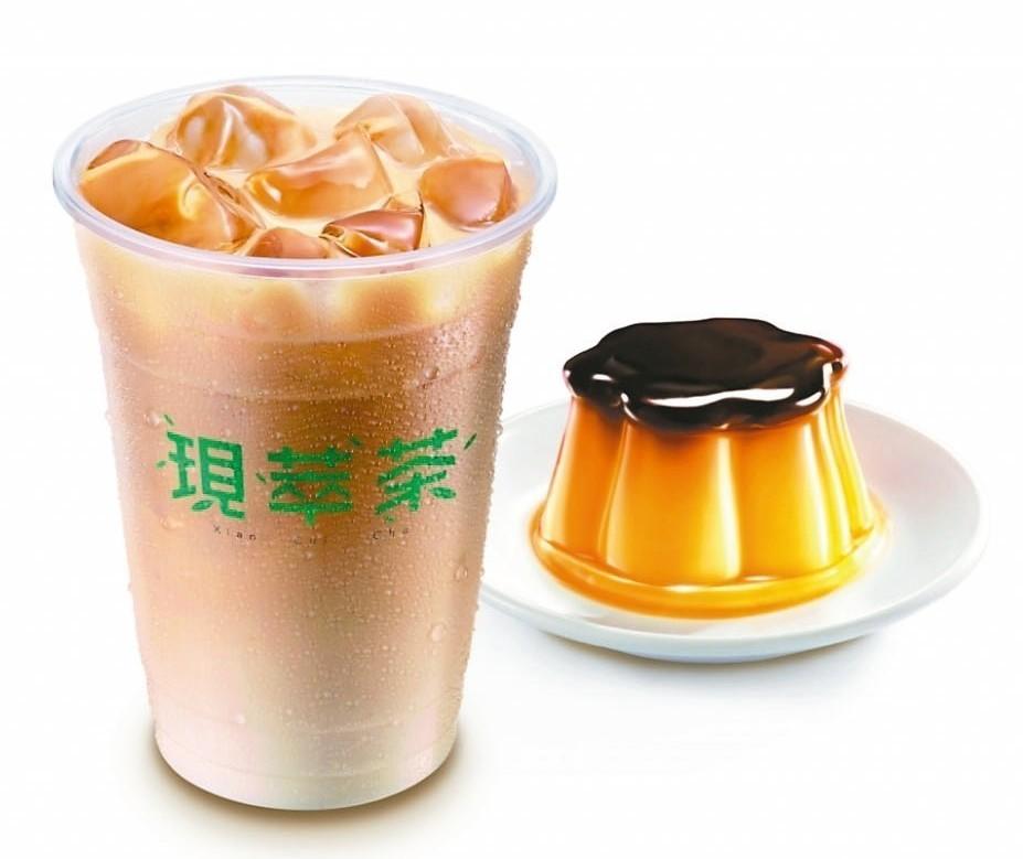 7_ ELEVEN「統一布丁純奶茶」,目前僅限桃竹區200間門市販售。 圖/7_...