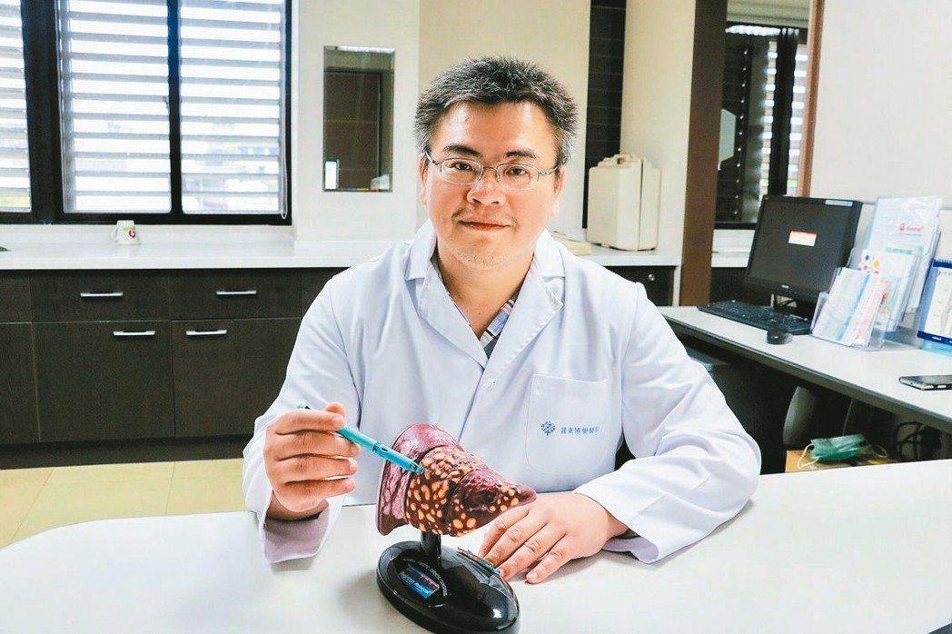 羅東博愛醫院胃腸肝膽科主任江明峯。 圖/羅東博愛醫院提供