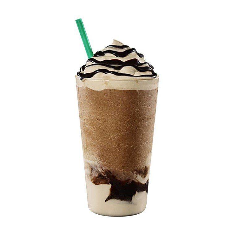 濃巧克力咖啡星冰樂、濃焦糖咖啡星冰樂。圖/取自星巴克官網(組圖)