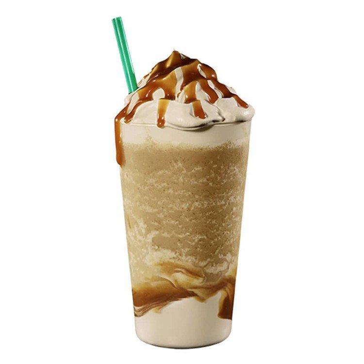 濃焦糖咖啡星冰樂。圖/取自星巴克官網