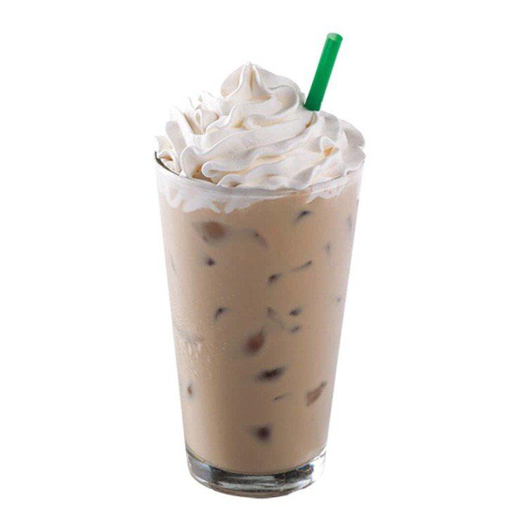 白巧克力咖啡那堤。圖/取自星巴克官網