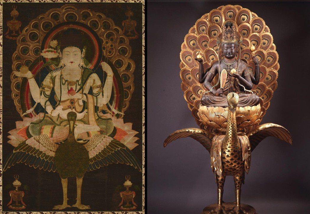 《孔雀王》名稱取自於密教的「孔雀明王」,在印度的土俗信仰中,孔雀姿態優雅、能啄食...