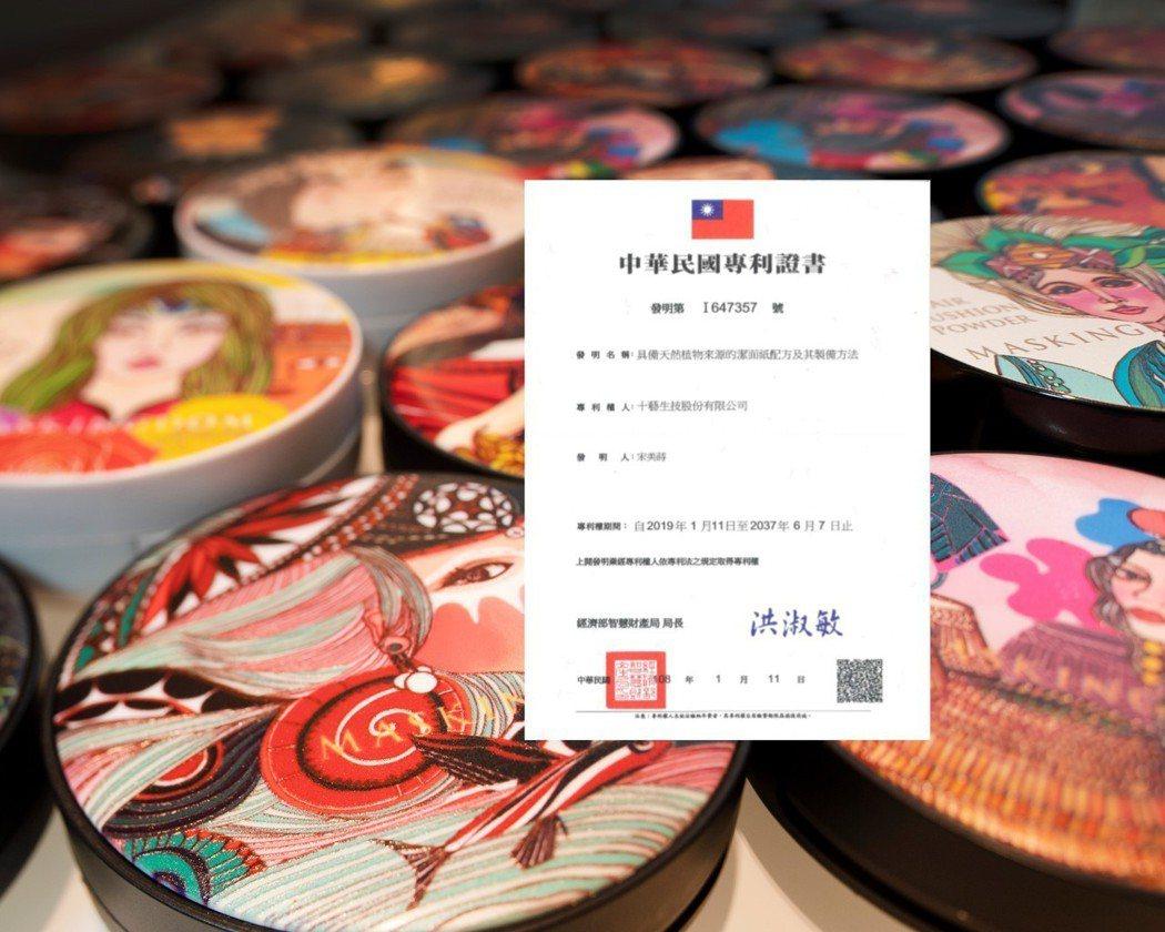 膜殿有機植萃洗臉紙有濃烈的台灣原住民風格,引人入勝。同時在台連獲得二項的專利發明...