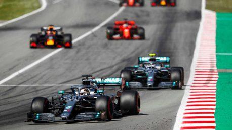 F1/西班牙站Mercede車隊持續輾壓 開幕連5戰包辦一、二名!