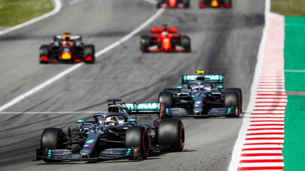 Mercedes這季展現F1自油電世代以來,前所未有的強勢。 摘自F1