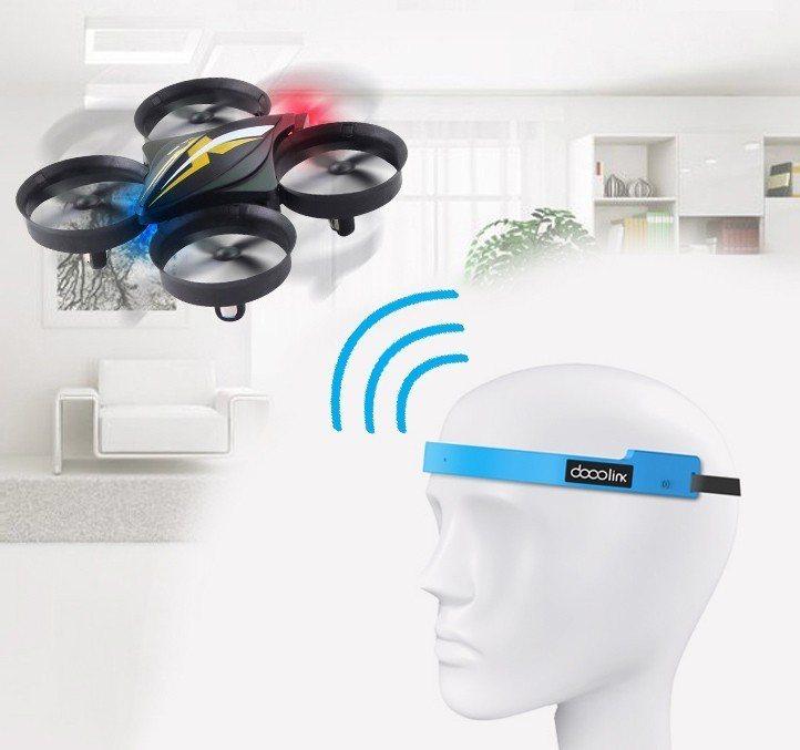 腦控無人機。 圖/新北市政府職業訓練中心 提供