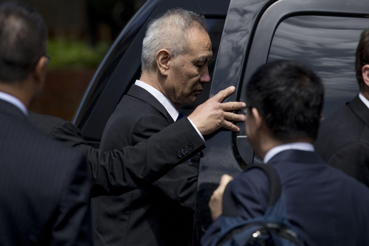 劉鶴率中方代表團赴美談判無功而返。美聯社