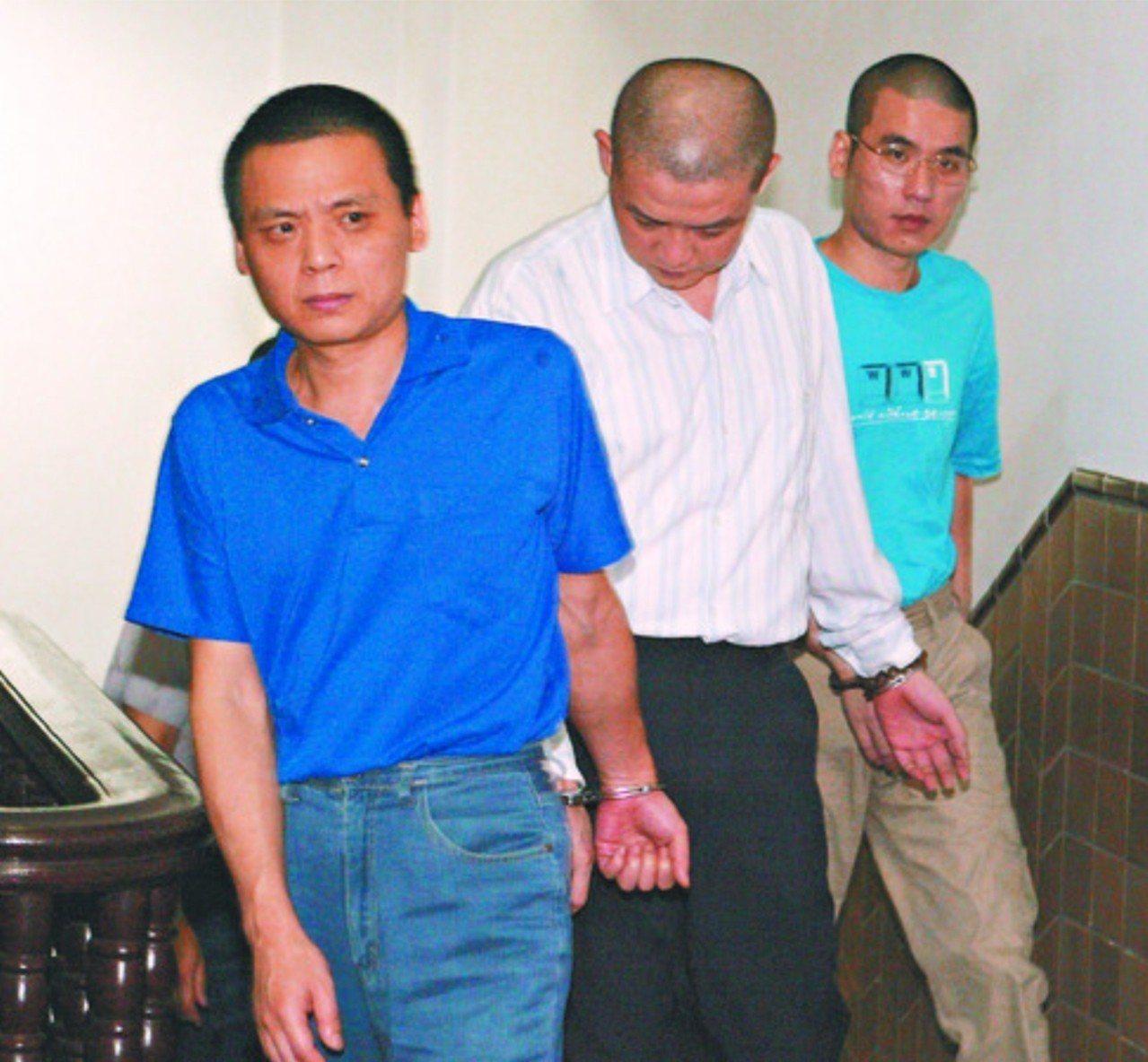 徐自強(左)、陳憶隆(中)、黃春棋(右)。本報資料照片