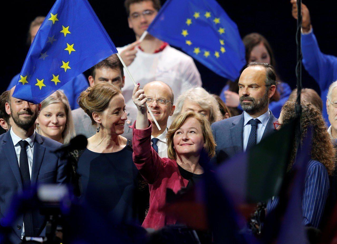 歐洲議會選舉假新聞滿天飛。圖為法國史特拉斯堡的選舉造勢活動。路透