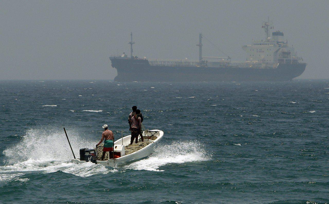 阿拉伯聯合大公國七個酋長國之一的富吉拉酋長國港口。美聯社