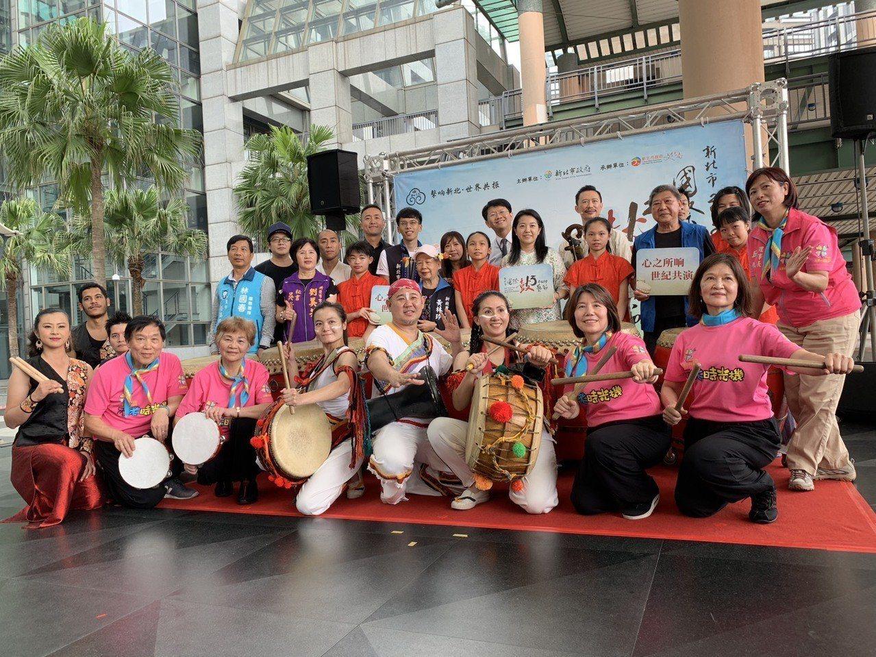 2019年新北市國際鼓藝節總計有7個國家、21支團隊參與。記者張曼蘋/攝影