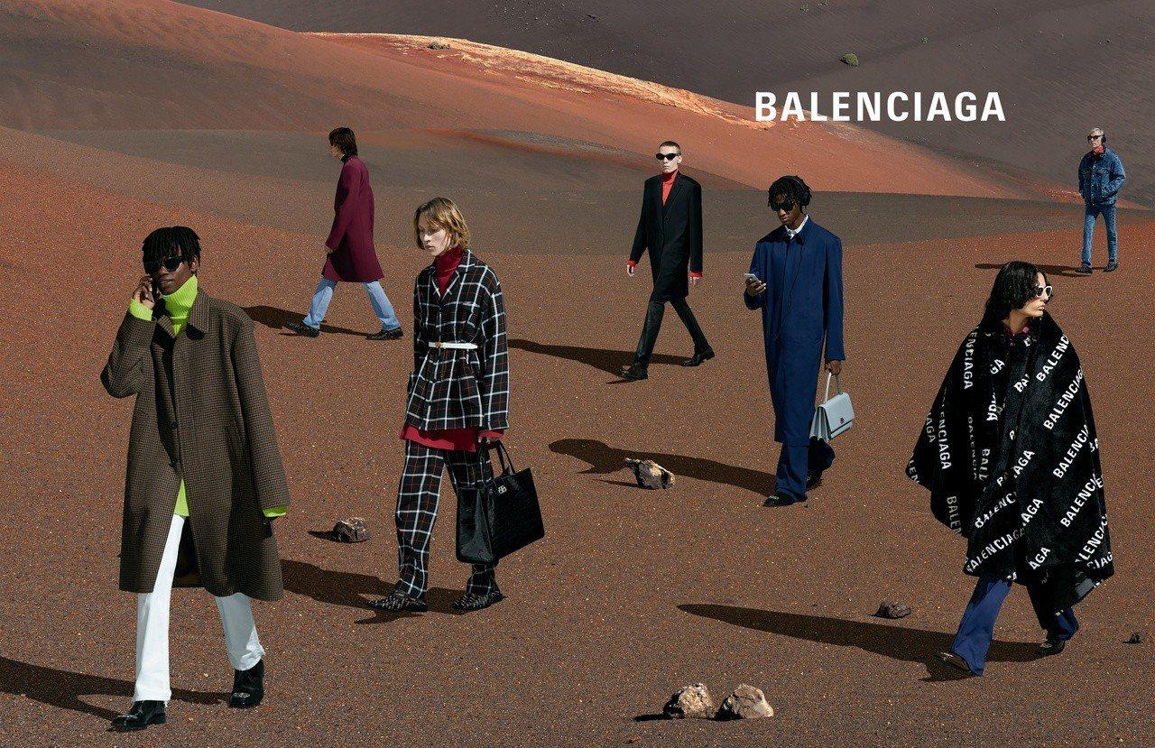 Balenciaga秋季系列廣告。圖/Balenciaga提供