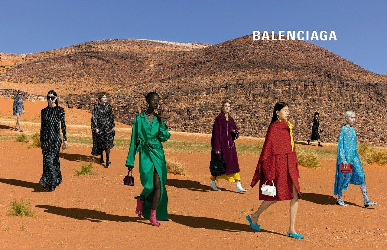 Balenciaga秋季系列廣告找來藝術家Jean-Pierre Attal獻出...