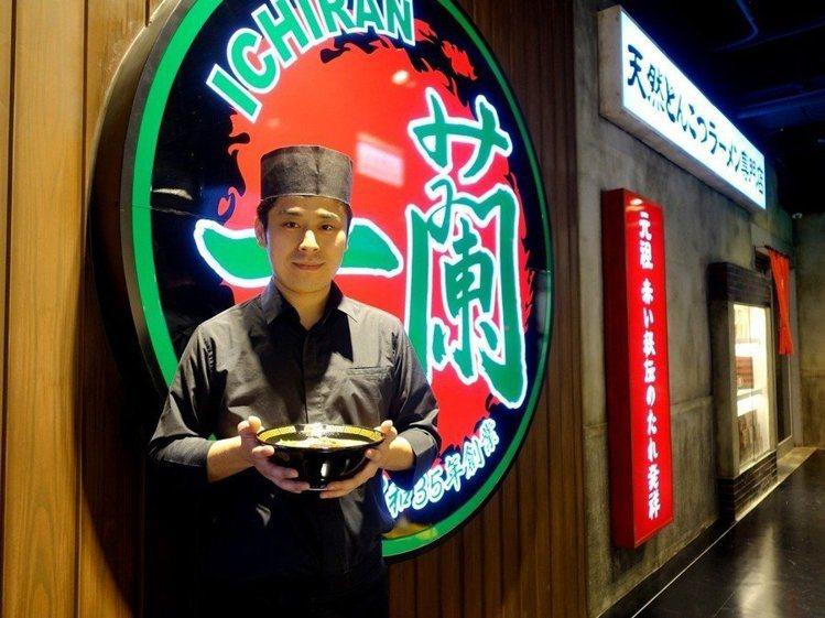一蘭台灣台北本店、別館同步提供新品「燉煮叉燒肉」。記者張芳瑜/攝影