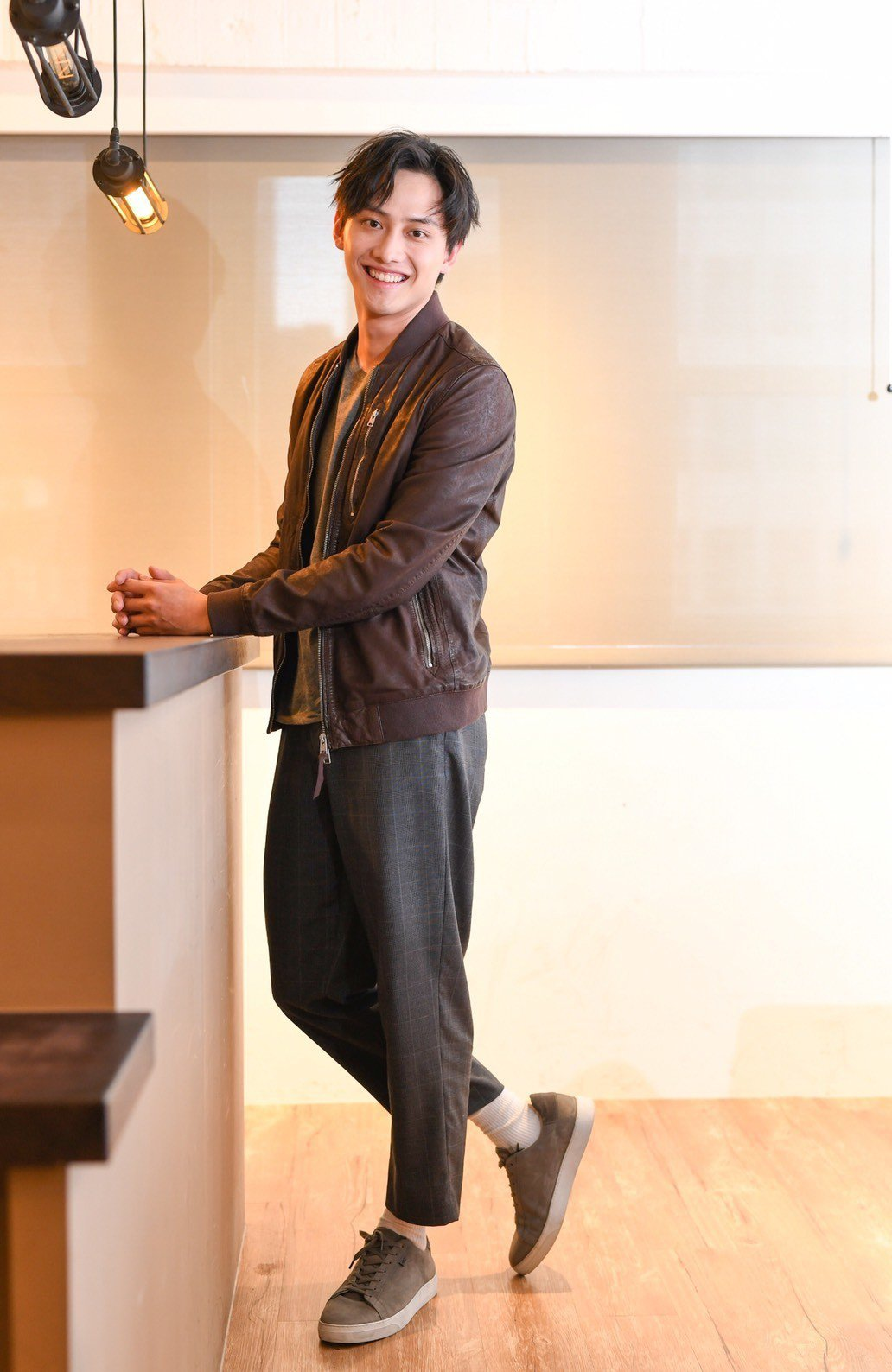 范少勳是運動員出身,擁有極佳的體格。圖/文達文創提供