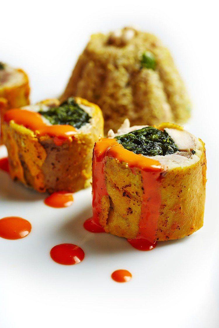 Manjunath Mural擅長用現代料理手法演繹印度傳統料理。圖/LONGT...