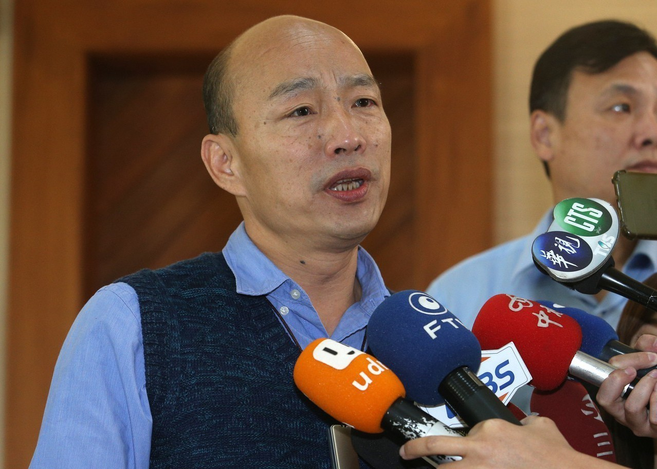 高雄市長韓國瑜接受東森電視台「關鍵時刻」節目專訪表示,他承諾4年付出不會變,若成...