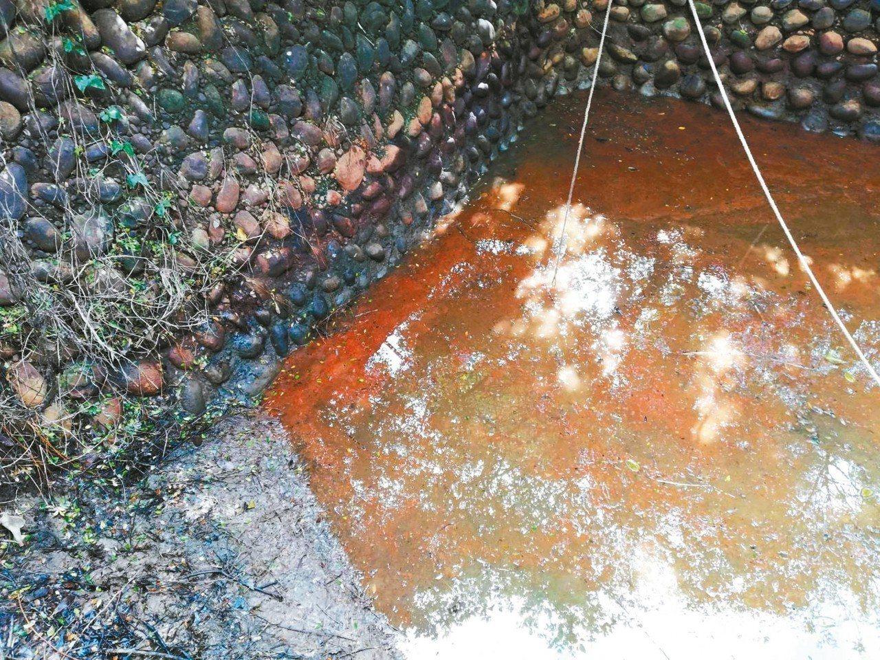 中油苗栗縣鐵砧山礦場伴產水外洩案,環保局查證,將公告土壤及地下水汙染控制場址。 ...