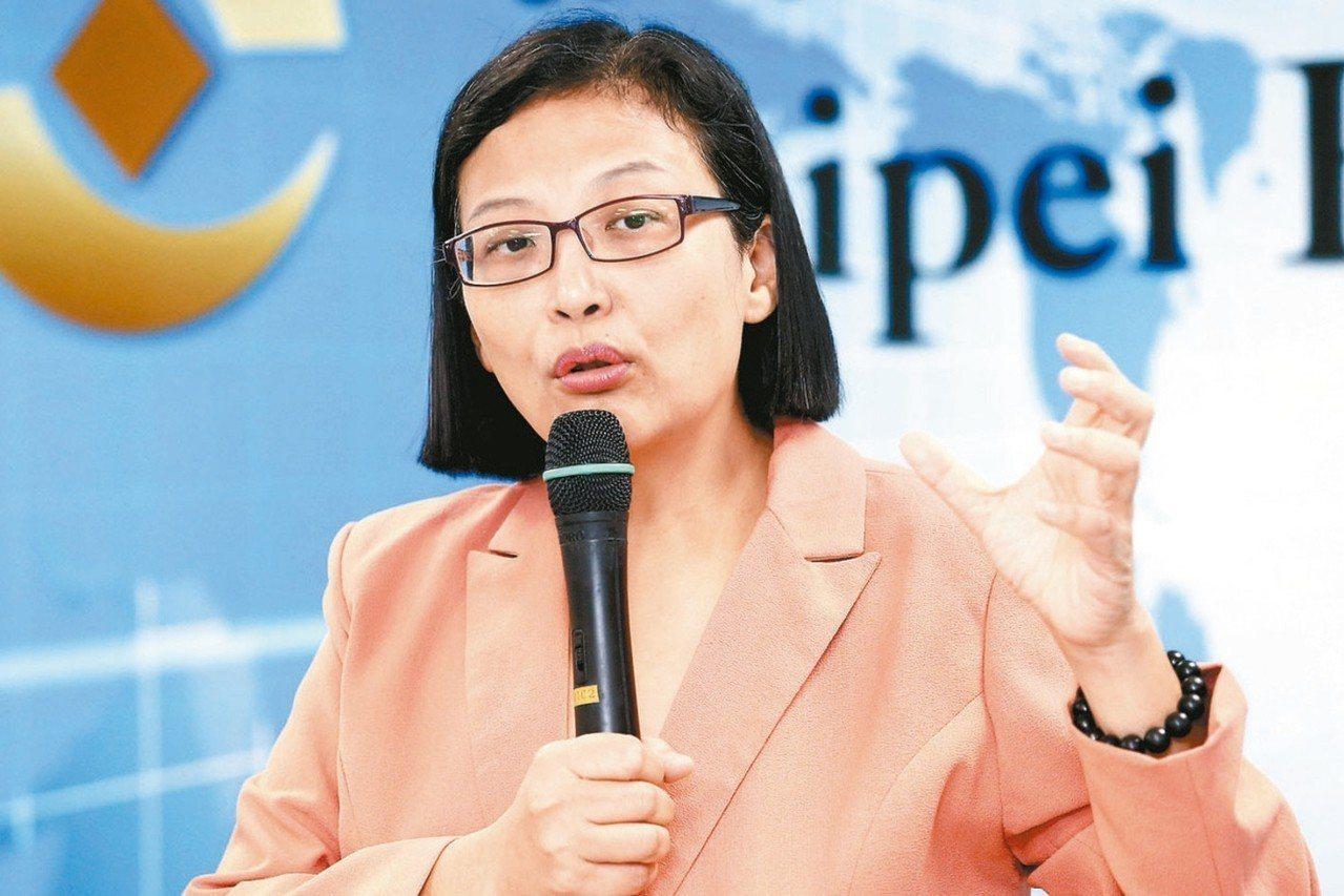 中美晶總經理徐秀蘭。 圖/聯合報系資料照片