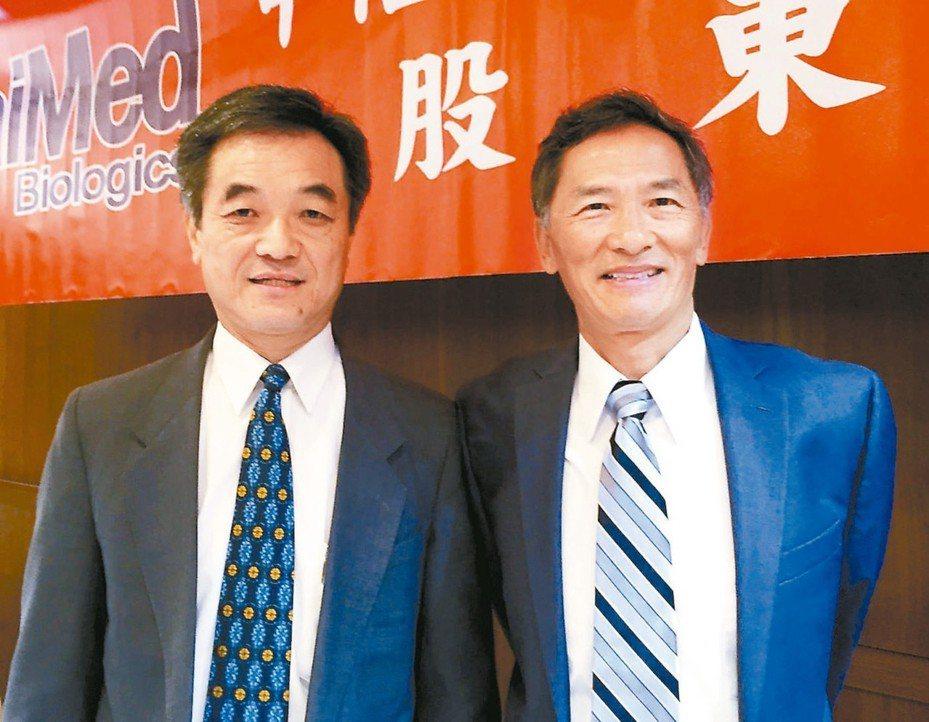 智崴新任董事長陳志全(左) (本報系資料庫)