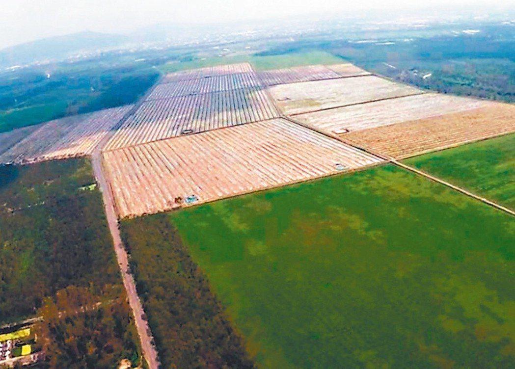 高鐵土地標售,高鐵台南站歸仁區段土地昨日成為競標熱點。 本報系資料庫