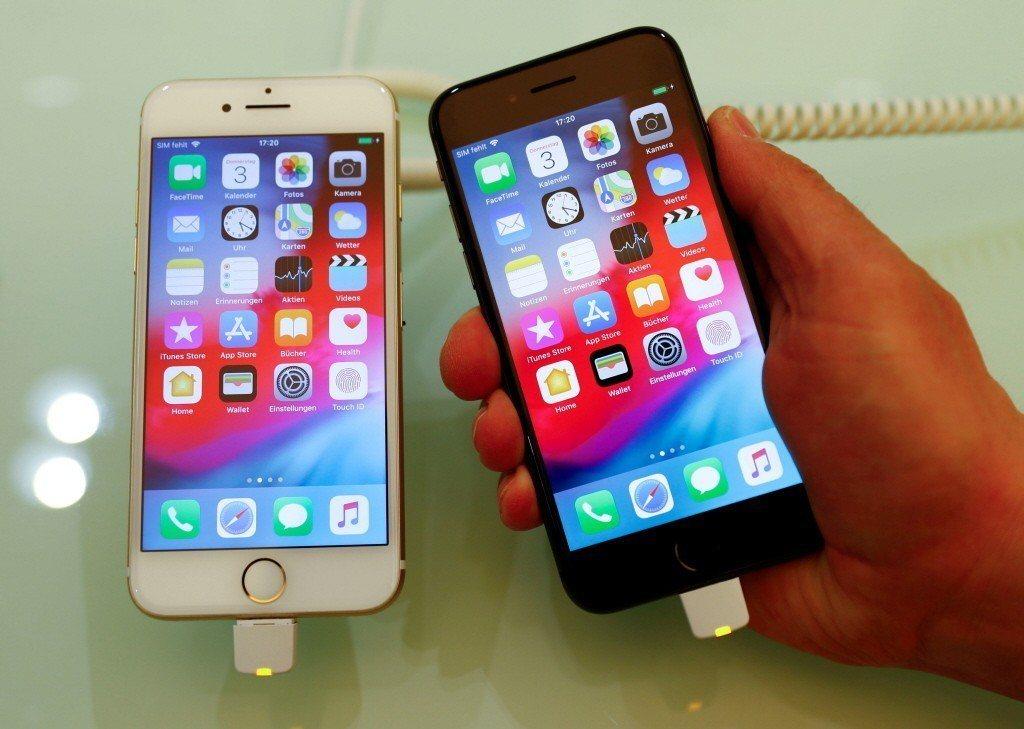 美中貿易戰開打,台灣手機、電腦供應鏈恐受波及。照片為示意圖。 路透