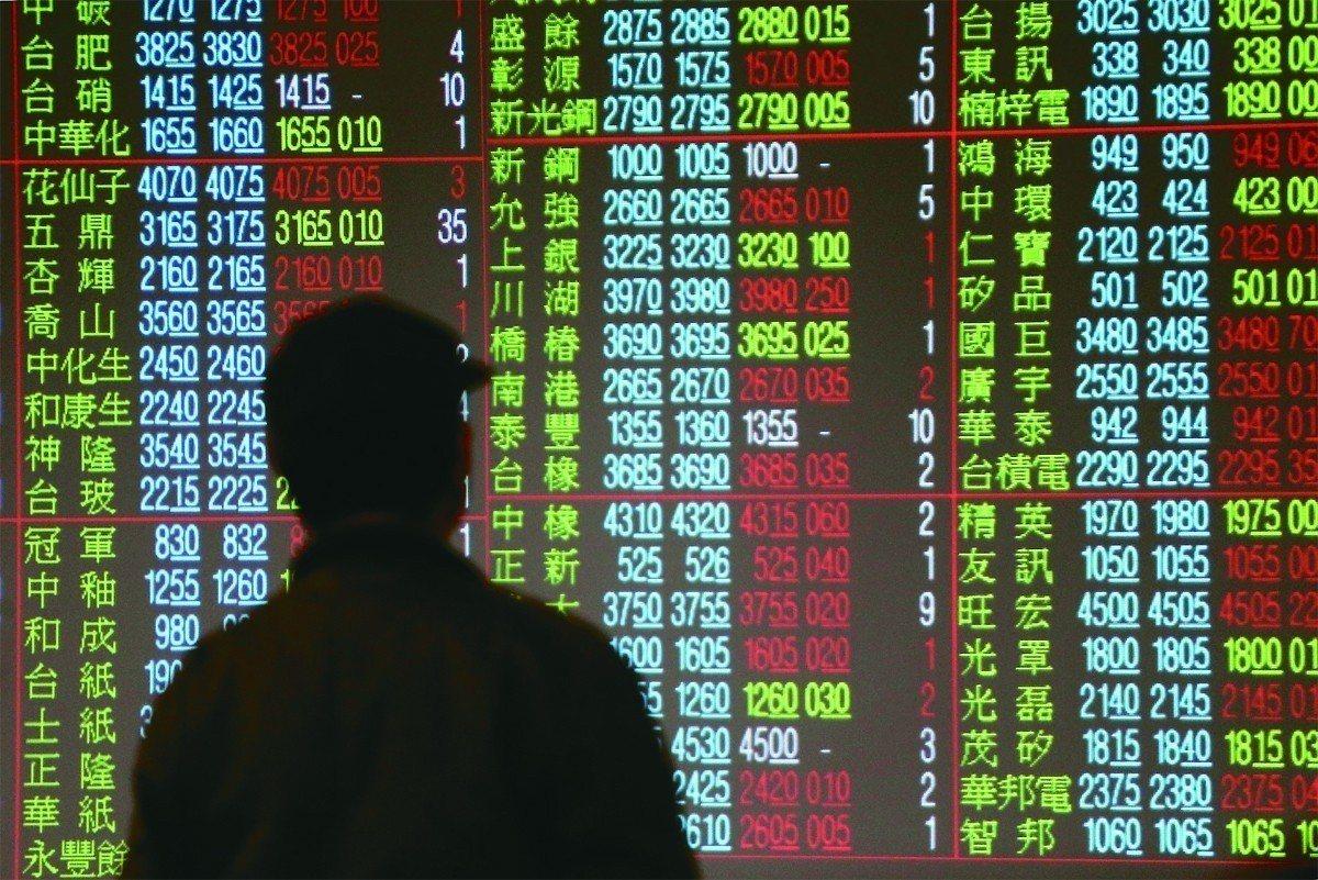 受美中貿易戰衝擊,台股今天一開盤就大跌200點。報系資料照