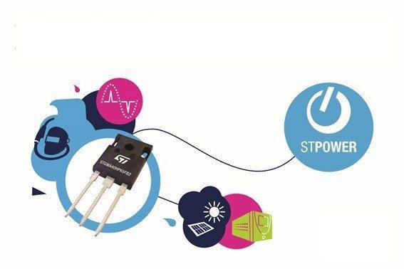意法半導體650V高頻IGBT,利用最新高速切換技術提升應用性能。 意法...