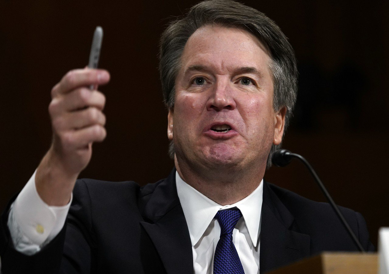 去年上任的保守派大法官卡瓦諾,出人意料地支持消費者個人權益的權益案。 美聯社