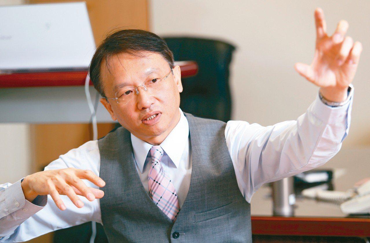 宏碁董事長陳俊聖。 圖/聯合報系資料照片