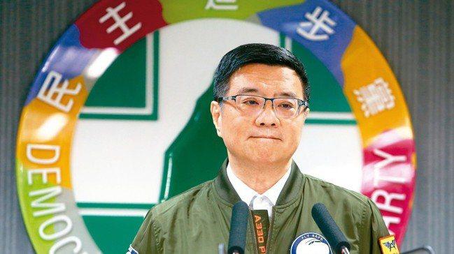 民進黨主席卓榮泰。 報系資料照